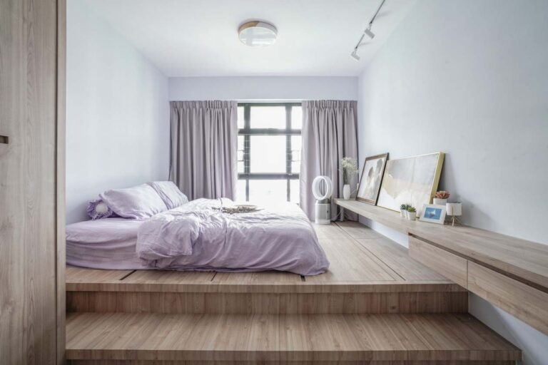 Tampines masterbedroom platform bed